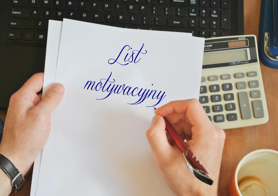 List Motywacyjny Bez Ogłoszenia